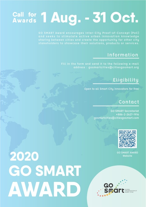 GO SMART Award 2020 - Call for Awards