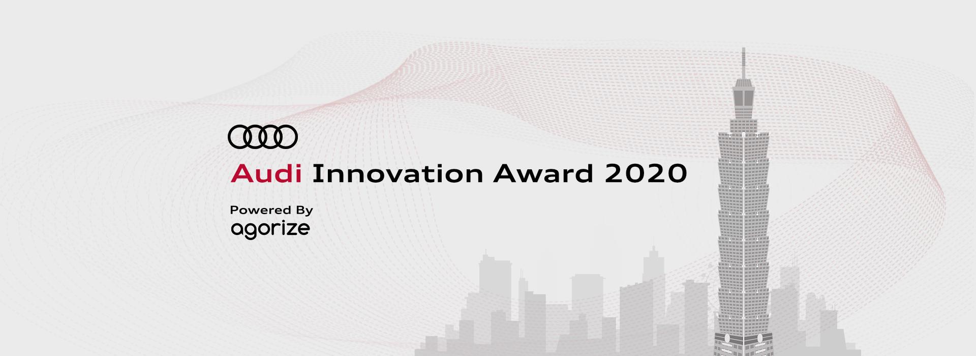 [FINAL CALL] Audi Innovation Award 2020