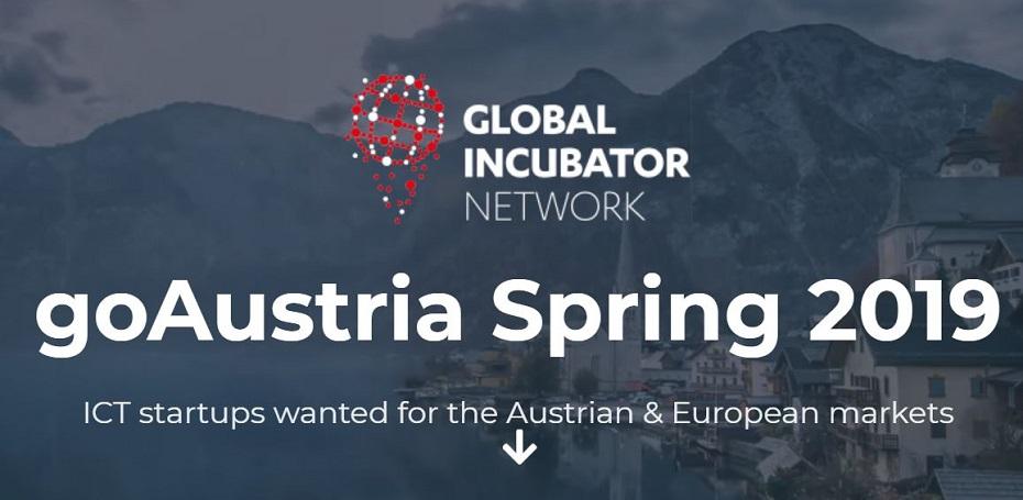 goAustria Spring 2019 奧地利新創培育計畫